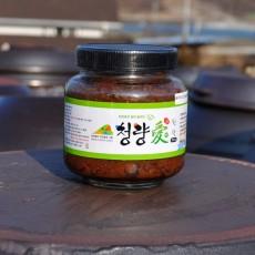 청량애 된장 800g  전통 방식 메주 토종 장 무방부제 국산콩 100%