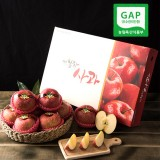[햇살찬산사과]부사(미얀마) 5kg(15~16과)껍질째 먹는 山사과