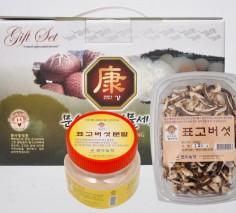 문수농장 선물세트 5호 건 표고 버섯 , 가루