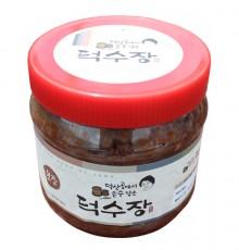 [덕수장]덕수된장 1kg  전통 방식 메주 토종 장 무방부제 국산콩 100%