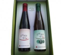오미자+산열매 선물세트 수제 액기스