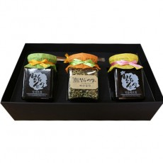 봉화산사 선물세트(조청2종+연잎차)