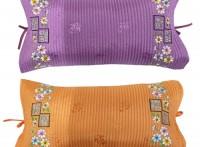 국화 인견 끈 베개(어른용) 색상선택