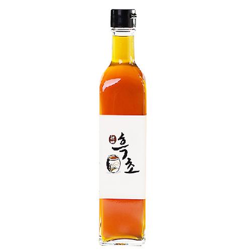 천연 발효 현미 흑초 (1~2년 숙성) 500ml