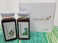 오미자+산야초 선물세트 (각 270ml)