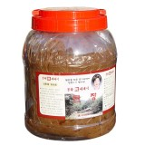 김종례순재래식 된장 3kg  전통 방식 메주 토종 장 무방부제 국산콩 100%