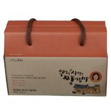 청정봉화 장아찌 선물세트포장박스