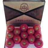 [햇살찬산사과]부사(미얀마) 5kg(11과-12과)껍질째 먹는 山사과(설날선물용)