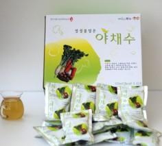 야채수(150ml*100봉) 국산100%