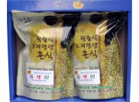 [봉화보곡]유색미(선물용) 1kg