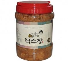[덕수장]덕수된장 2kg  전통 방식 메주 토종 장 무방부제 국산콩 100%